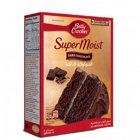 Betty Crocker Super Moist Dark Chocolate 500g