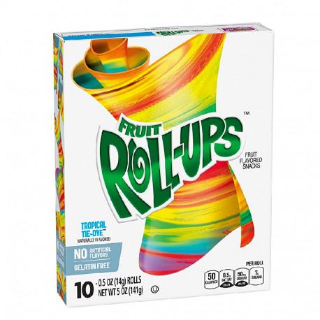 Betty Crocker Roll-Ups Tropical Tie-Dye Fruit Snacks 141g