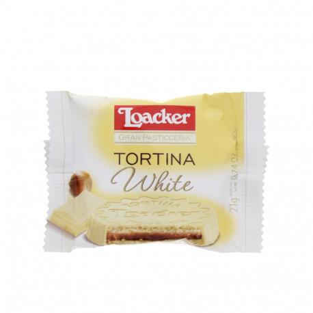 Loacker Tortina White 21g