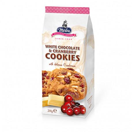 Merba White Choco & Cran 200g