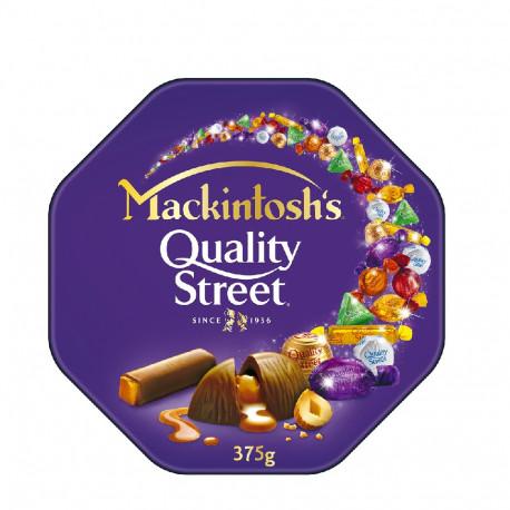 Nestle Mackintosh's Quality Street Assorted Chocolates 375g