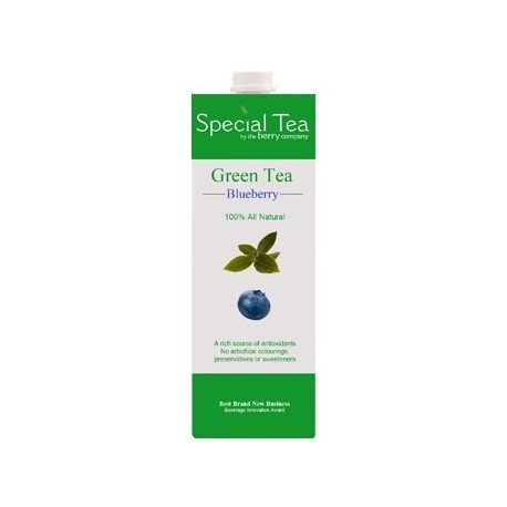 The Berry Company Special Green Tea Blueberry 1L