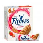 Nestle Fitness Strawberry Breakfast Cereal Bar 6x23,5G
