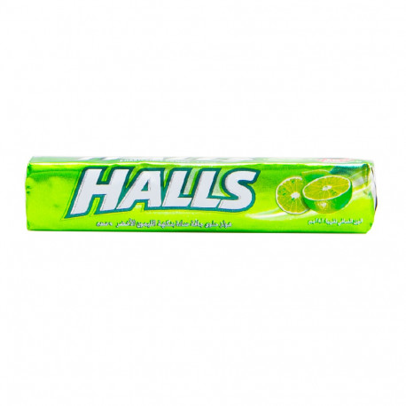 Halls Fresh Lime Candy 52.2