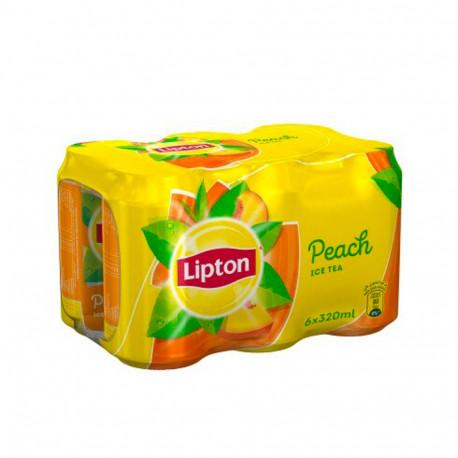 Lipton Ice Tea Peach 6x320ml