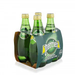 Perrier Carbonated Natural Mineral Water 4x330ml