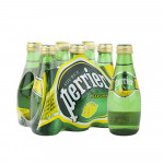 Perrier Carbonated Natural Mineral Water With Lemon 6x200ml