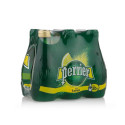 Perrier Carbonated Natural Mineral Water With Lime 6x200ml
