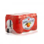 San Pellegrino Sparkling Aranciata Rossa Juice 6x330ml