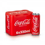 Coca Cola Regular Pack 6x330ML