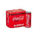 Coca Cola Zero 6x330 Pack