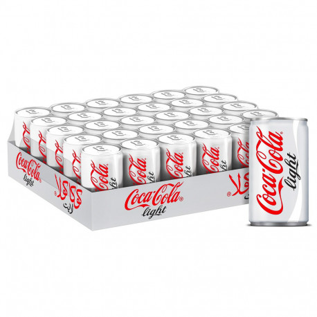 COCA COLA LIGHT MINI CAN 30X150ML