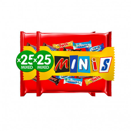 Best of Minis Chocolate 500gx2