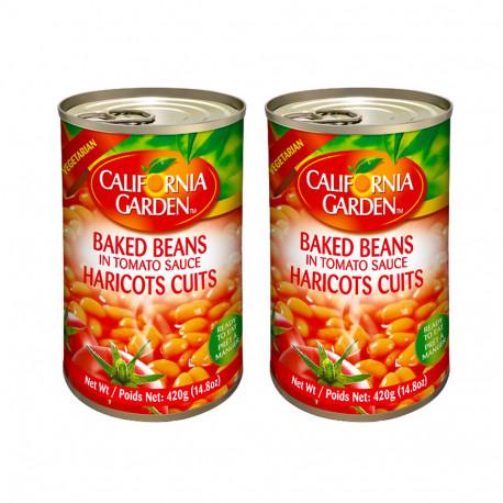 California Garden Baked Beans in Tomato Sauce 2x420g