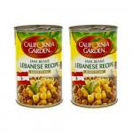 California Garden Fava Beans Lebanese Recipe 2x450G