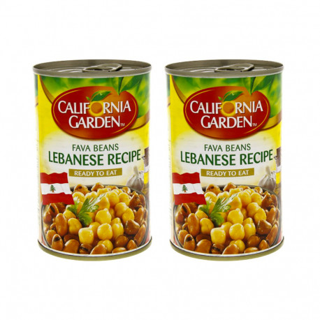 California Garden Fava Beans Lebanese Recipe2x450g