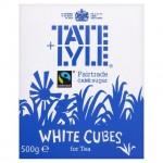 Tate Lyle Fartrade White Sugar Cube 500g