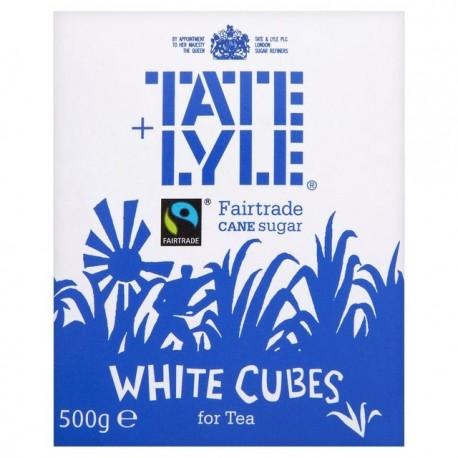 Tate Lyle Fartrade White Sugar Cube 500g
