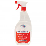 Cool & Cool Antibacterial Disinfectant and Sanitizer Ethyl Alcohol Multi Purpose Spray 750ML
