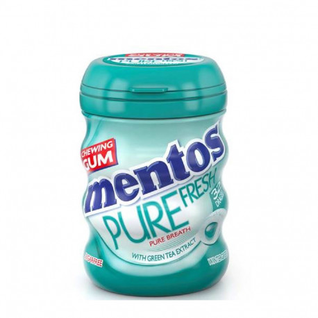 Mentos Chewing Gum Pure Fresh with Green Tea 28 Dragees