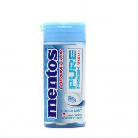 Mentos Chewing Gum Pure Fresh Mint 12dragees