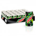 Mountain Dew Carbonated Soft Drink Mini Can 30x155ML