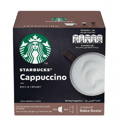 Nescafe Dolce Gusto Starbucks Cappuccino 6 Capsules