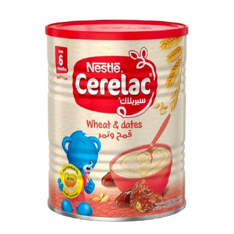 Nestle Cerelac Wheat and Dates 400G