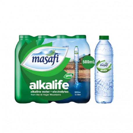Masafi Alkalife Alkaline Water 12X500ML
