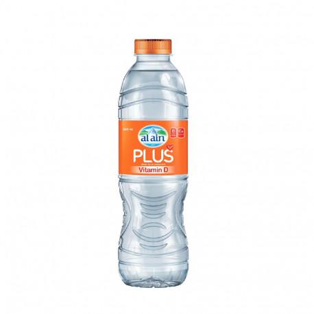 Al Ain Plus Vitamin D Water 500ML