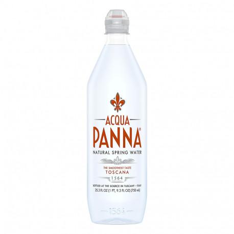 Acqua Panna Natural Mineral Water Sport Bottel 750 ml