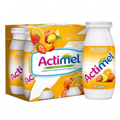 Actimel Multifruits Dairy Drink 4x88ml