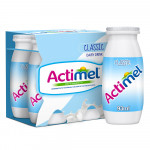 Actimel Plain Low Fat Dairy Drink 4x93ML
