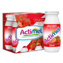 Actimel Strawberry Low Fat Dairy Drink 4x93ML