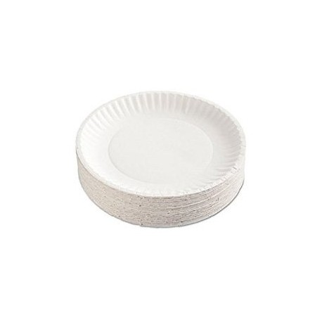 Hotpack Paper Plates 9 Inch 100Pcs