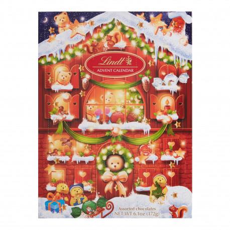 Lindt Lindor Teddy Advent Calendar 172gm