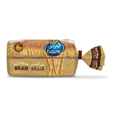 Lusine Sliced Bran Bread 615G