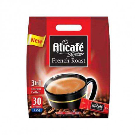 Alicafe Signature 3 in 1 French Roast 25gx30s