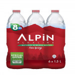 Alpin Mineral Water from Turkey  Pack 6x1.5L