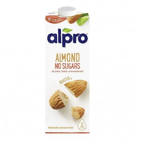 Alpro Unsweetened Roasted Almond Milk 1L