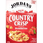 Jordans Country Crisp Strawberry 500g