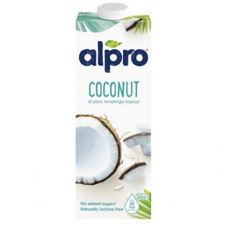 Alpro Coconut Milk Original No Added Sugar 1L
