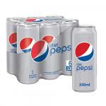 Pepsi Diet 6x330ML
