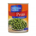 American Garden Peas Processed 400G