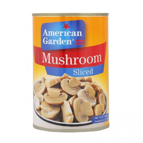 American Garden Sliced Mushrooms 425G