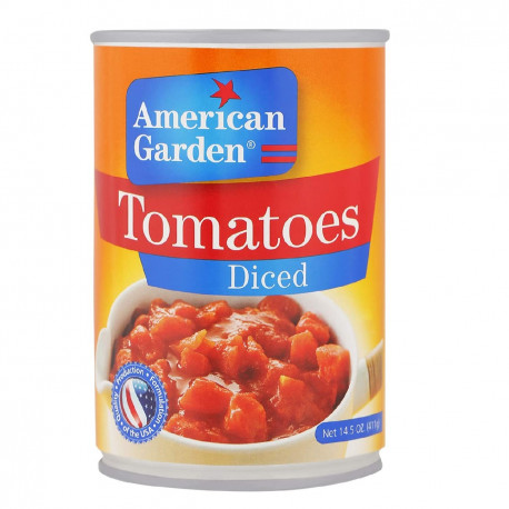 American Garden Diced Tomatoes 411G