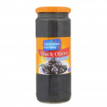 American Garden Whole Black Olives 260G