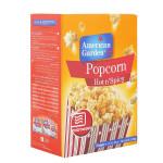 American Garden Hot & Spicy Microwave Popcorn 273G