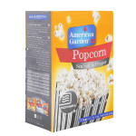 American Garden Sea Salt & Black Pepper Microwave Popcorn 273G
