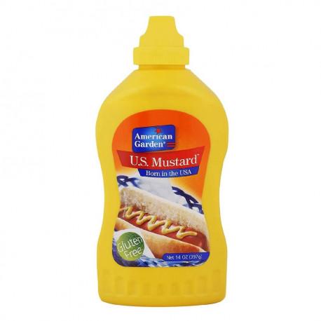 American Garden U.S. Gluten Free Mustard Squeeze 397G